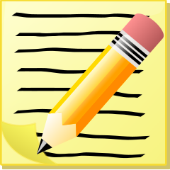 Notebook clipart writing journal Reading clipart Cliparts Writing Clipart