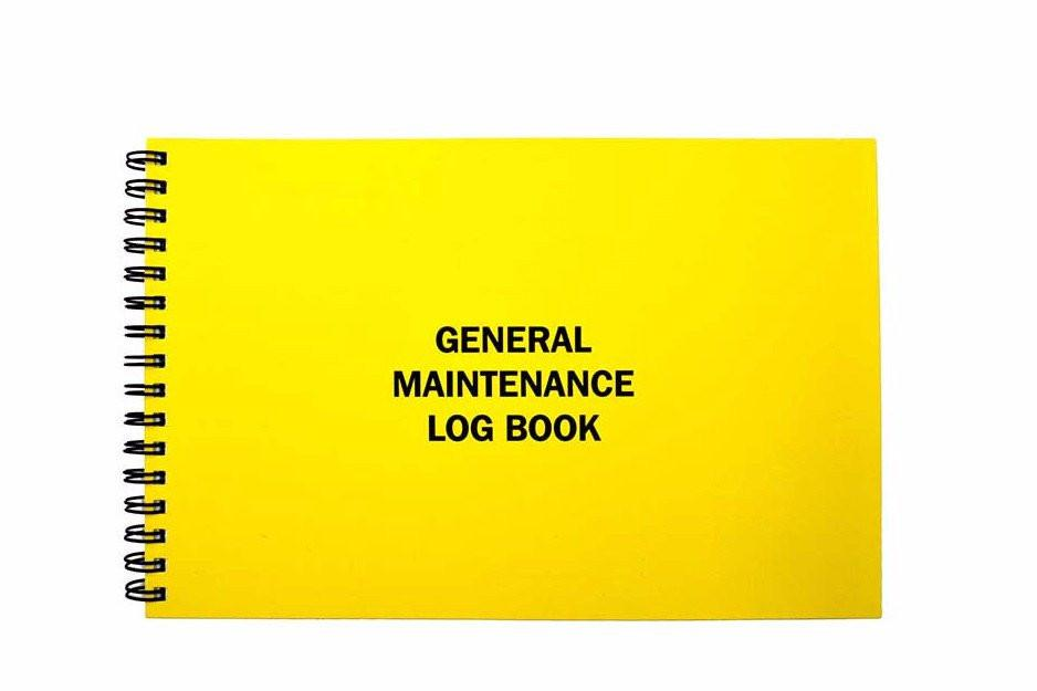 Notebook clipart spiral ring Store Maintenance Unlimited®: Log #116