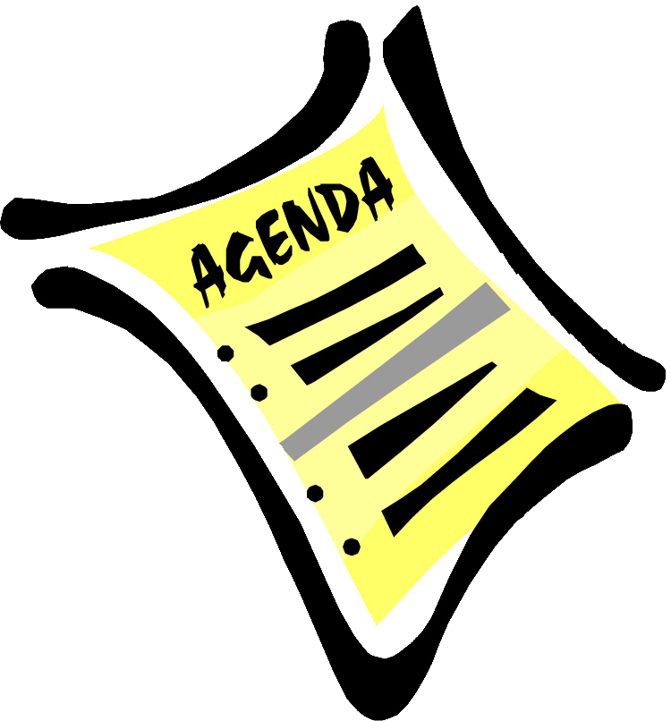 Notice clipart agenda Planning HOA on What Should