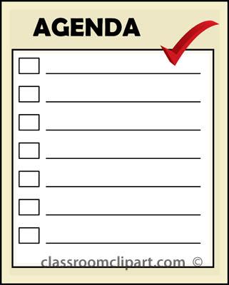 Notice clipart agenda Agenda_22 Classroom Office jpg agenda_22
