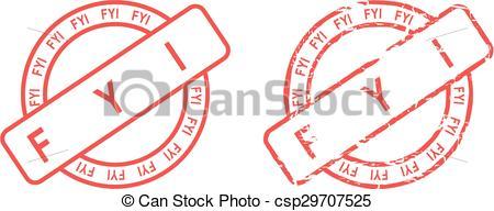 Notice clipart fyi #5