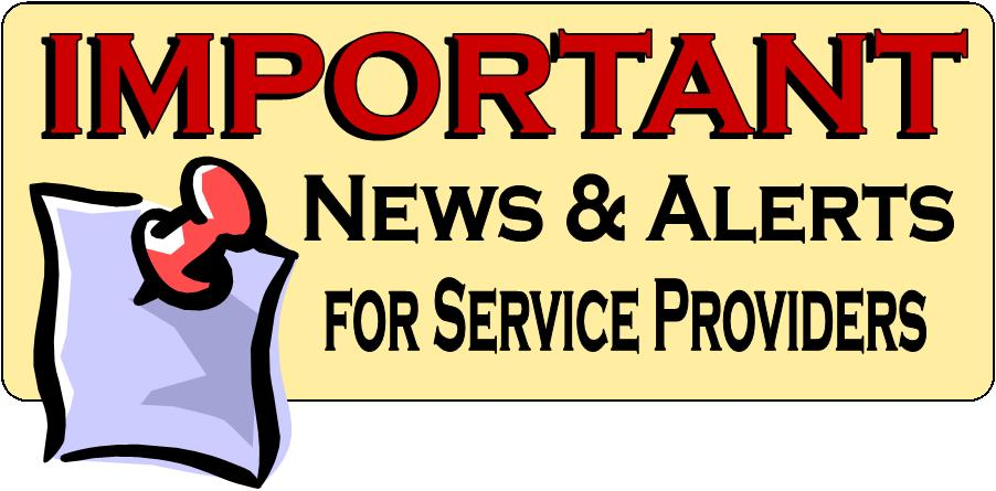 Notice clipart important news #6