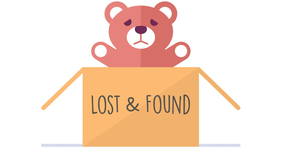 Notice clipart lost and found The and storms:  After