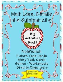 Notice clipart main idea And Activities Idea on Nonfiction