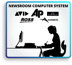 Notice clipart newscaster #7