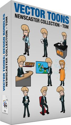Notice clipart newscaster #6