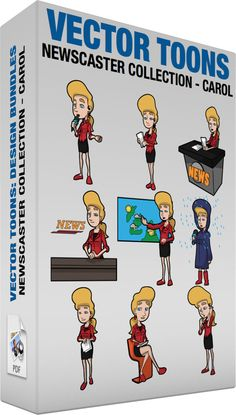 Notice clipart newscaster #4