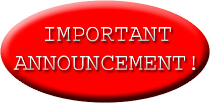 Notice clipart special announcement #9