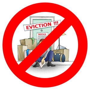 Notice clipart threat Unjust with an eviction action