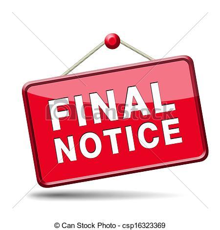 Notice clipart warning Panda Finals final%20clipart Clip Clipart