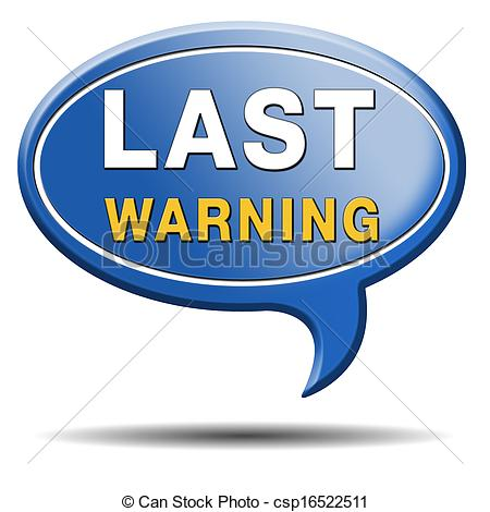 Notice clipart warning Notice warning warning Ultimate or