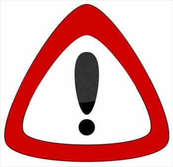 Notice clipart warning Clipart Download warning on Art