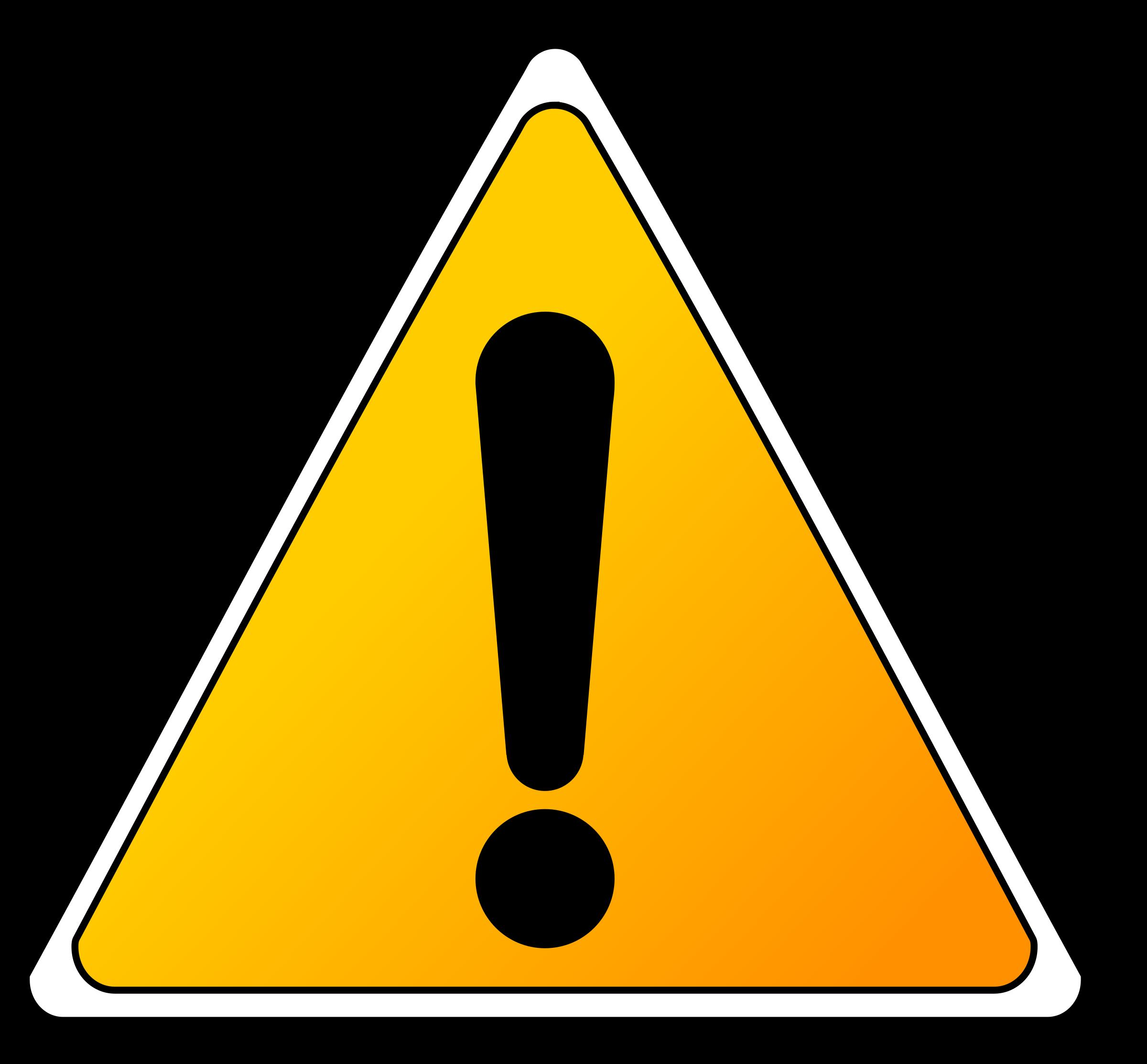 Notice clipart warning Sign Warning Clipart Sign Warning