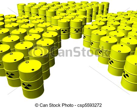 Barrel clipart radioactive waste  Nuclear of Nuclear Clip