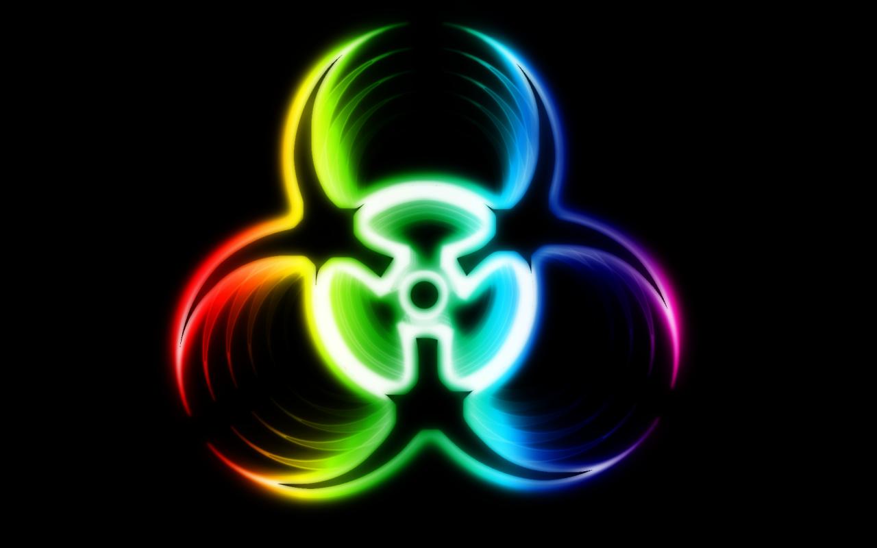 Radioactive clipart cool music Wallpapers Biohazard Symbol Wallpaper Best