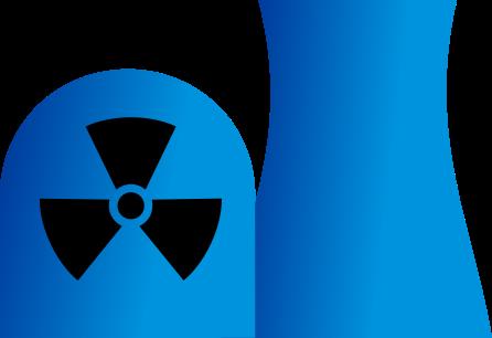 Nuclear clipart logo #7