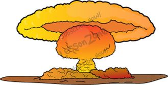 Nuclear Explosion clipart Pie Nuclear clip Clipart Cliparts