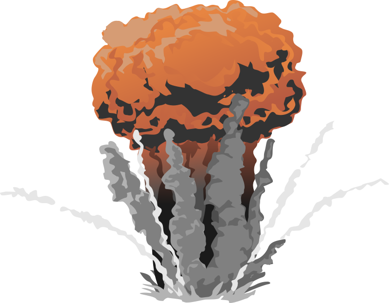 Nuclear Explosion clipart Nuclear Nuclear illustration Collection explosion