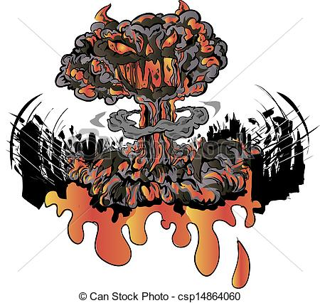 Nuclear Explosion clipart Illustrations  explosion explosion 821