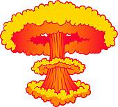 Explosions clipart nuke Bomb best art ideas Mushroom