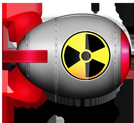 Nuclear clipart logo #3