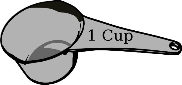Number clipart 1 cup Images Clipart Measuring 1 Cup