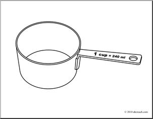 Number clipart 1 cup Com (coloring One (coloring Cups: