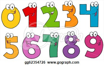 Number clipart #6