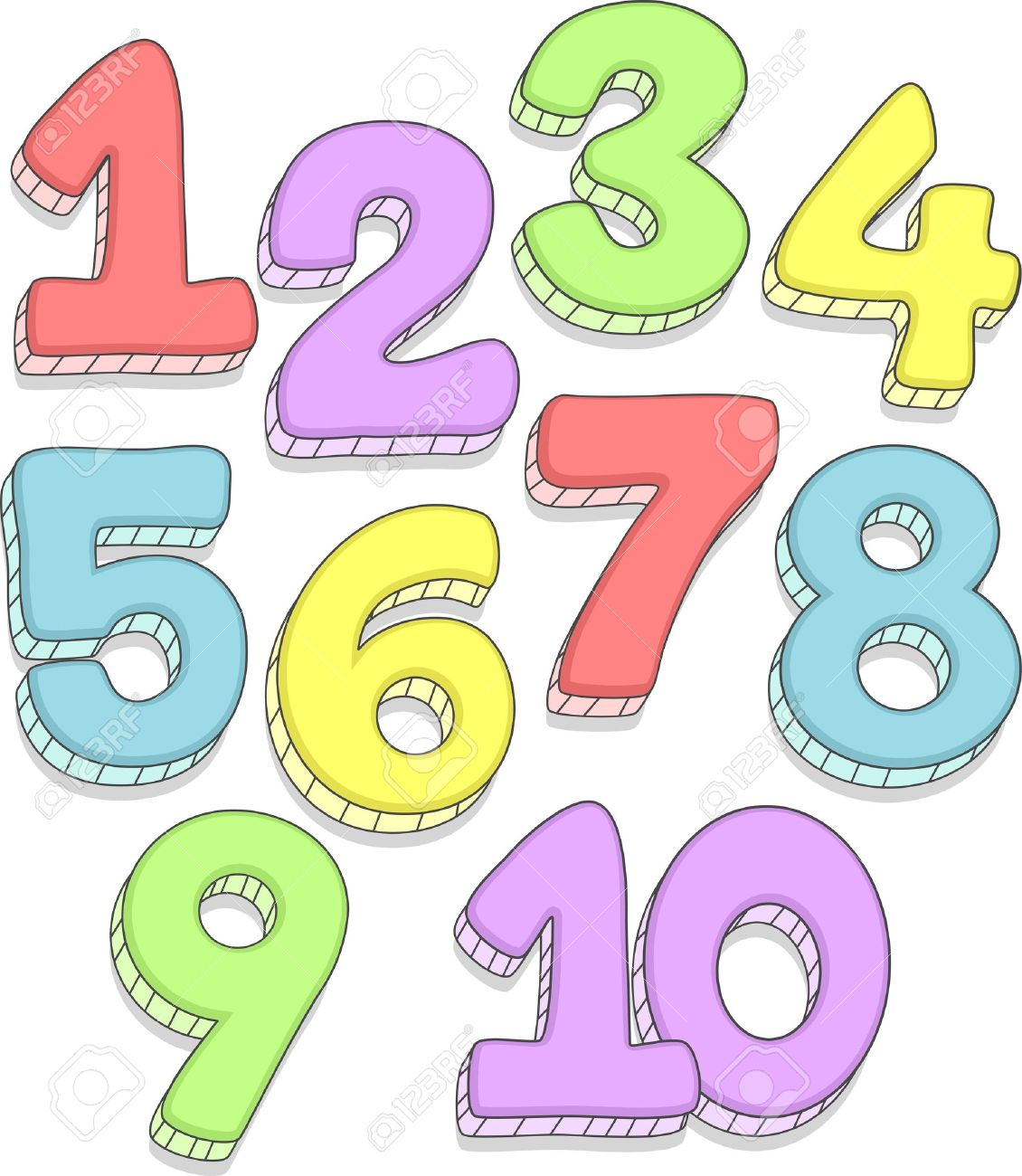 Number clipart Panda Clipart Clipart Images Free