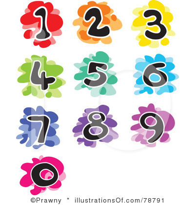Number clipart animal number Collection Animal One numbers clip