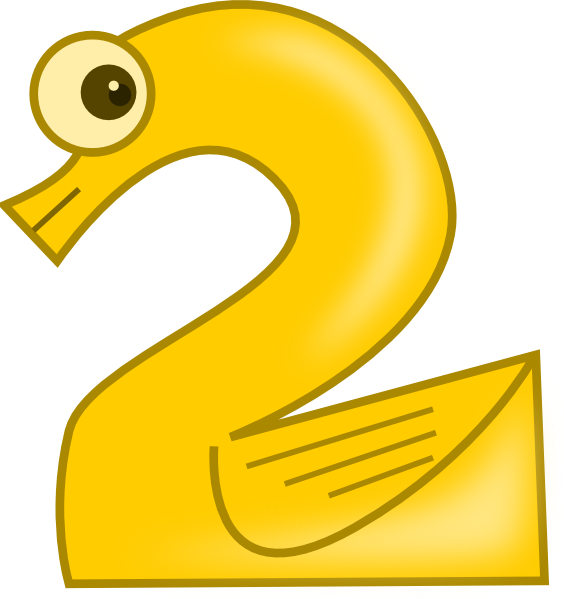 Number clipart animal number At Download image Two as: