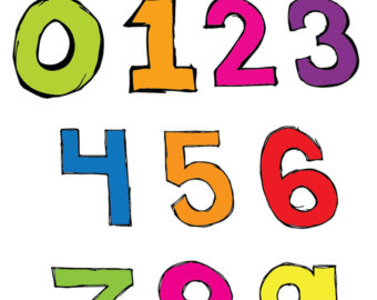 Number clipart basic Clipart Clipart Numbers Clipart Panda