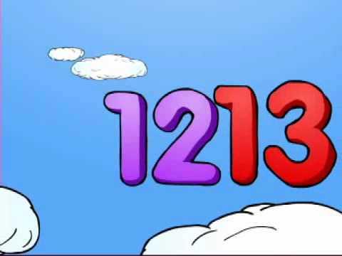 Number clipart basic YouTube & Cartoon Vocabulary Kids