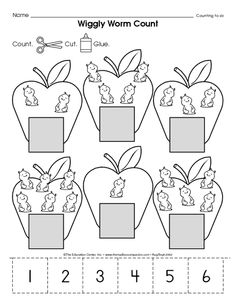 Number clipart basic Clipart Preschool dot for numbers