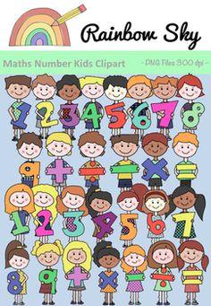 Number clipart basic Cherry Silhouette Teachers Fall Kids