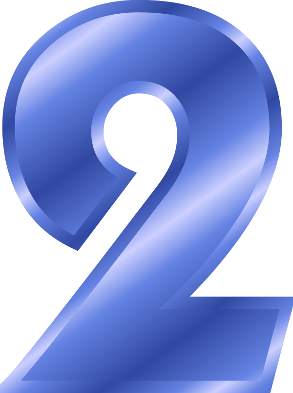 Number clipart blue Art Clip on Art Number