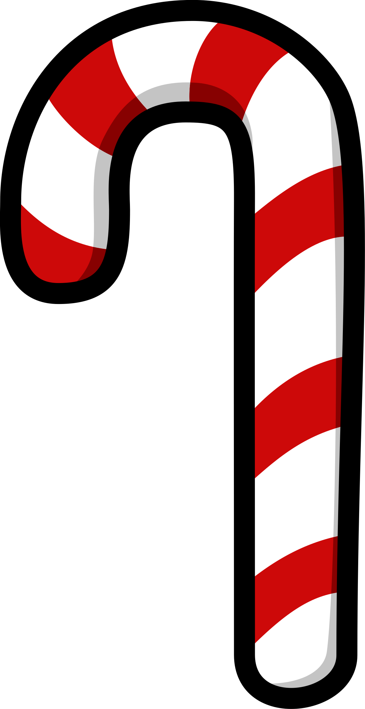 Number clipart candy cane Candy Candy Clipart Cane Cane
