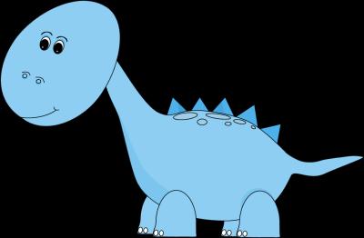 Brachiosaurus clipart blue dinosaur Art Cute Cute Dinosaur Dinosaur