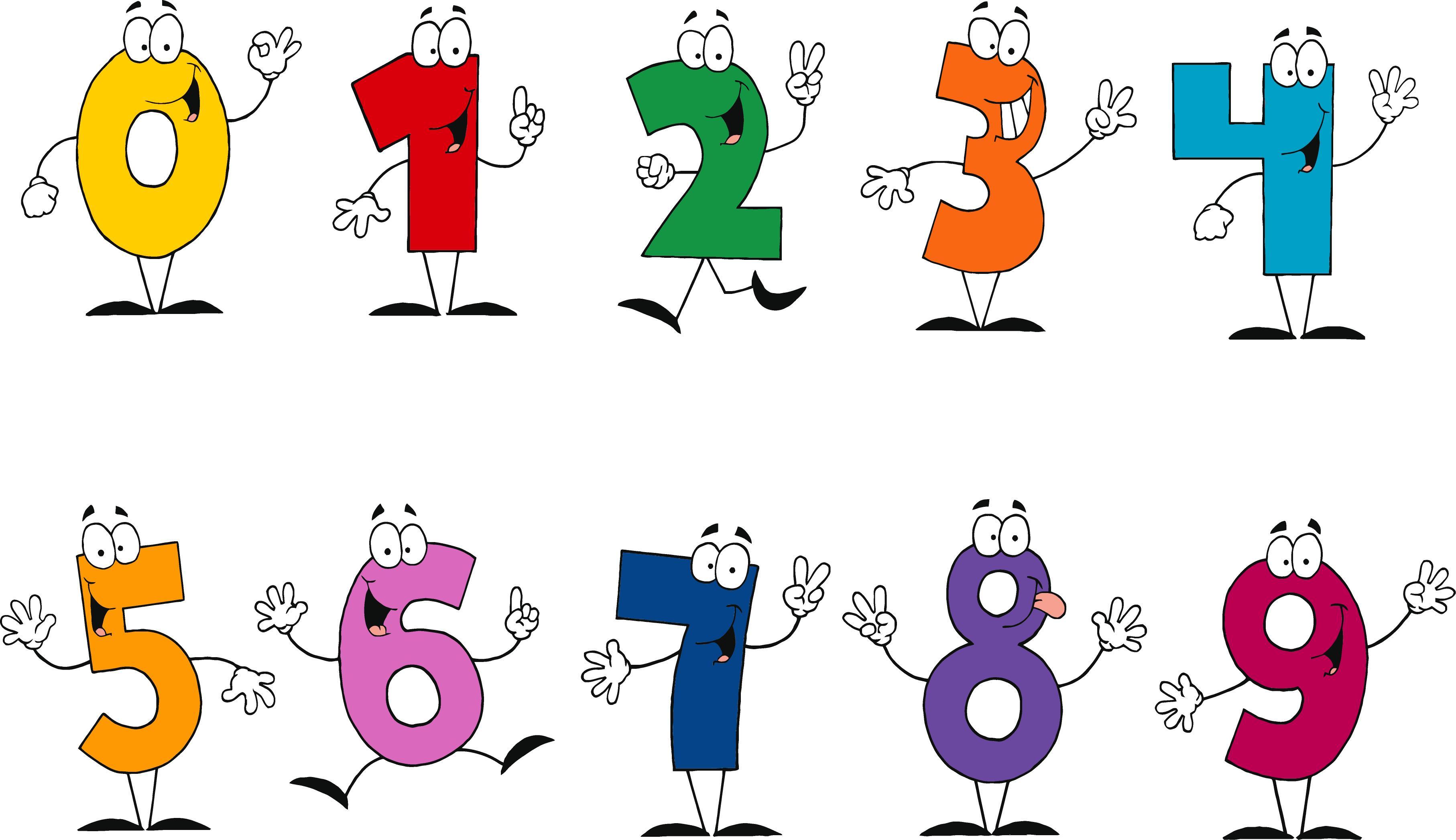 Number clipart funny cartoon Clip Cartoon  Download Art