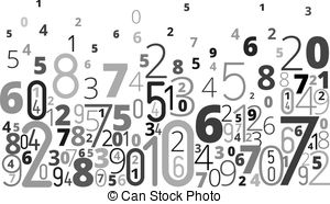 Number clipart jumbled Background Images Jumbled 475 and