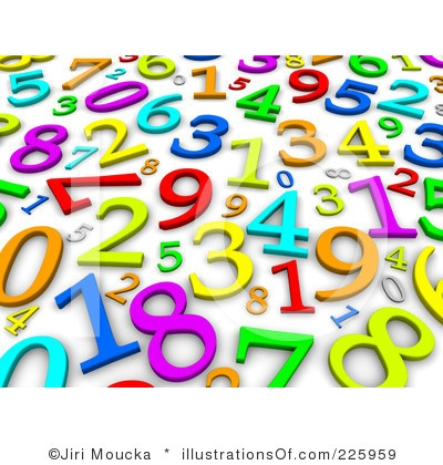 Number clipart jumbled Clipart Jumbled Numbers com Jumbled