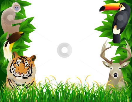 Number clipart jungle 54 jungle clip art art