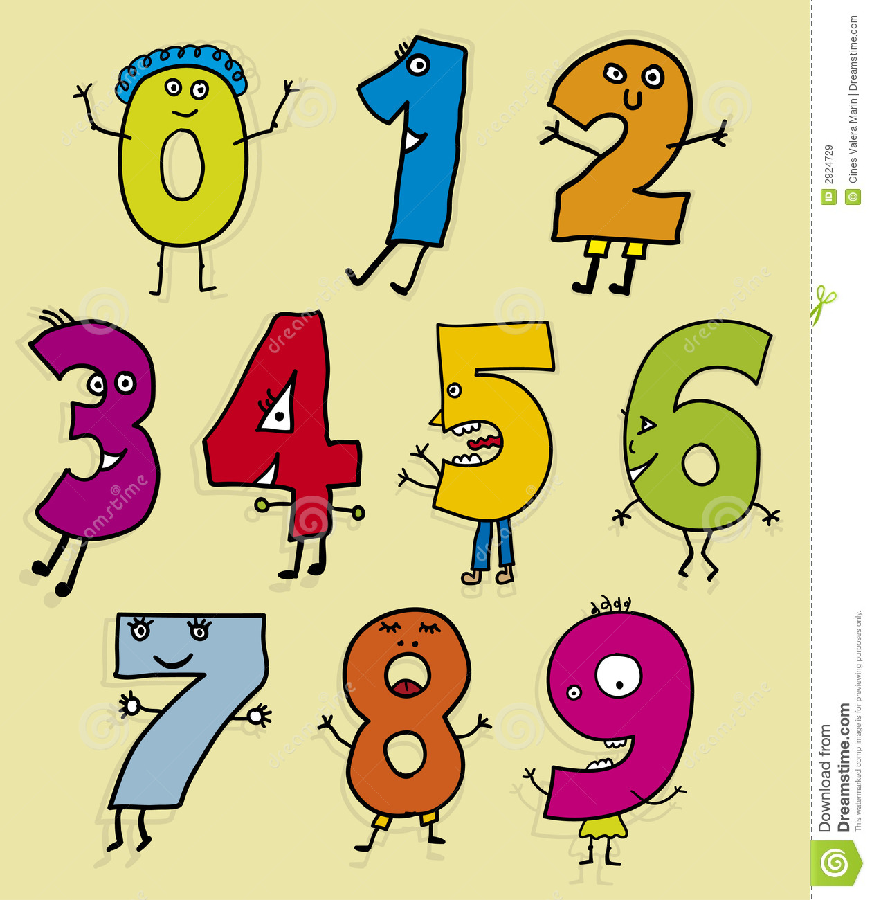Number clipart kid number With Clipart  Collection Boy