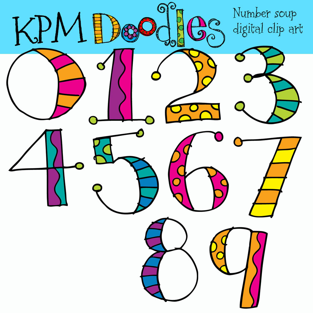 Number clipart kid number Download For Images Kids numbers