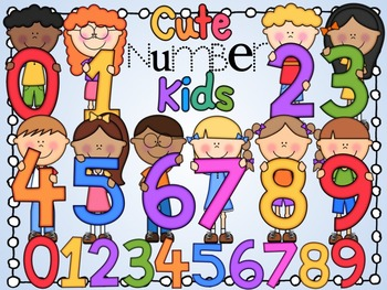 Number clipart kid number Numbers Cute Kids Kids Clipart