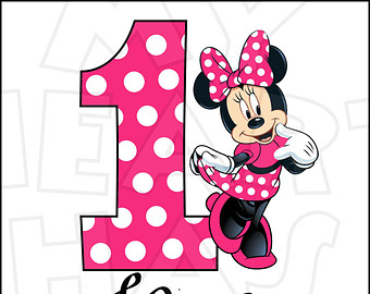 Number clipart minnie mouse On hot as Hat Minnie