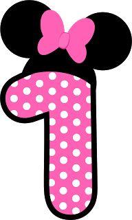 Number clipart minnie mouse On Minnie Symbols Pinterest best