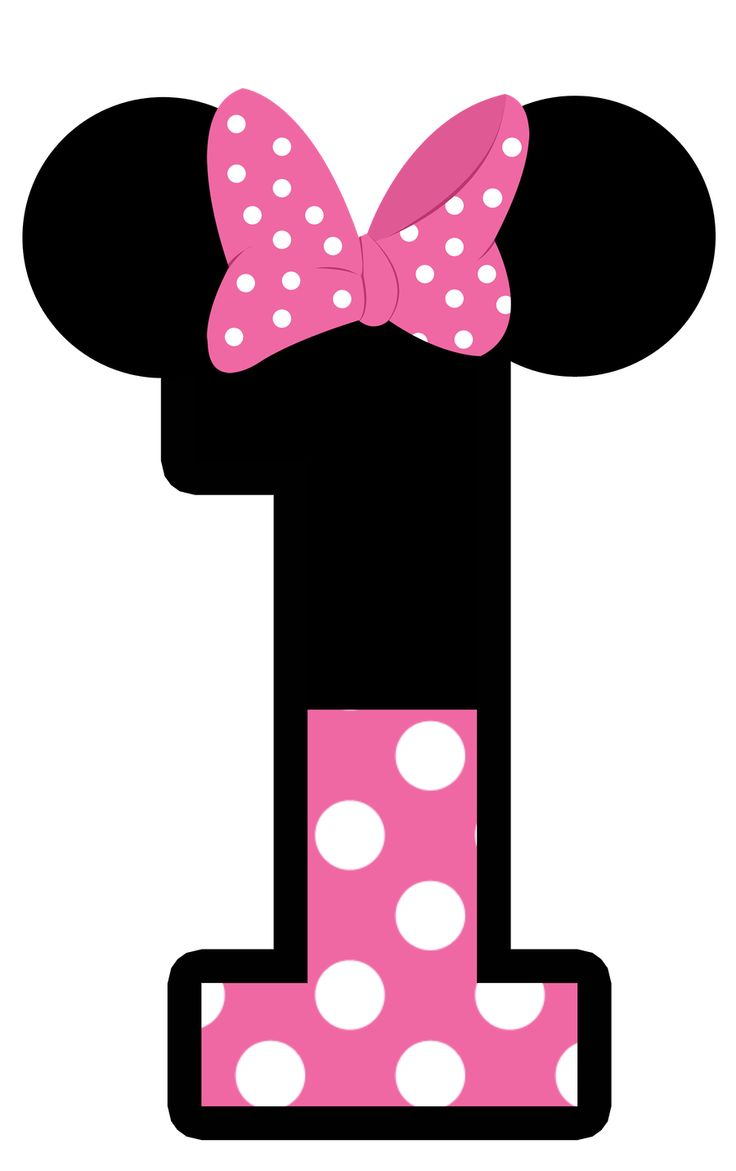 Number clipart minnie mouse Pin Minnie on about on
