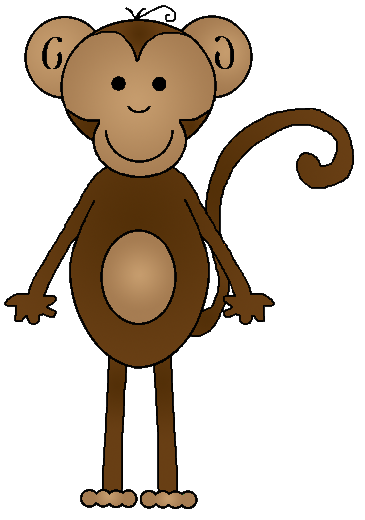 Number clipart monkey Com clipart clip Monkey Cliparting