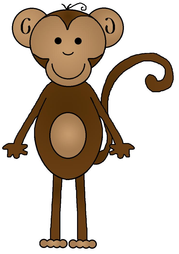 Number clipart monkey Art Monkey Monkey Cliparting clip